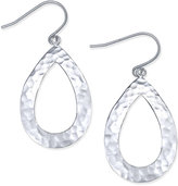 Giani Bernini Hammered Teardrop Drop Earrings in Sterling Silver, Only at Macy's
