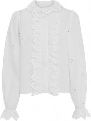 2nd Day 2nd Edition Poppy Blouse White - White / 8