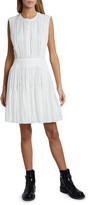 Chloé Broderie Anglaise Fit-and-Flare Dress