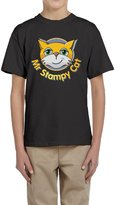 LaraStore Youth's Mr Stampy Car Youtube Short Sleeve Tee