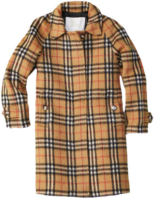 Burberry Mini Hepworth Wool Coat