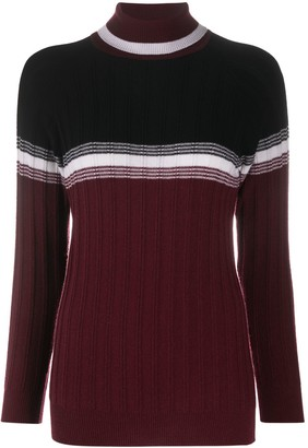 Plan C Ribbed Knit Jumper