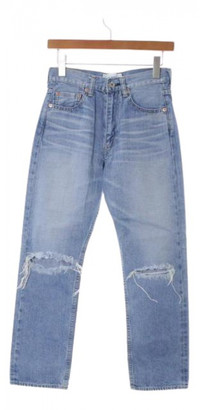 Junya Watanabe Blue Cotton Jeans