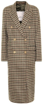 Giuliva Heritage Collection The Cindy check wool coat