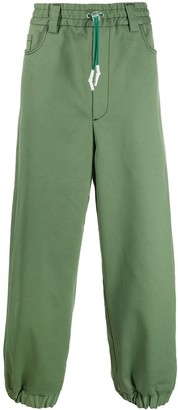 Sunnei elasticated loose fit trousers