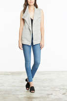 BB Dakota Soft Grey Knit Vest