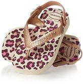 Havaianas Flip Flops Baby Chic Flip Flops - Beige/Rose Gold