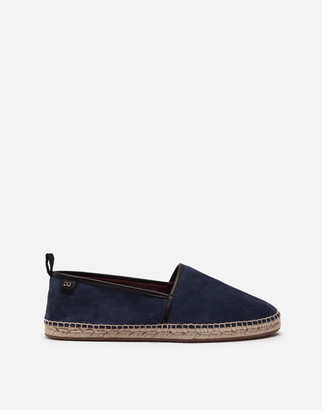 Dolce & Gabbana Suede Espadrilles With Rope Sole
