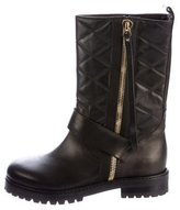 Raoul Quilted Biker Boots