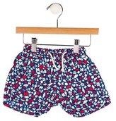 Oscar de la Renta Boys' Fish Print Swimming Shorts