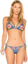Beach Riot X REVOLVE Alex Bikini Top in Blue. - size L (also in M,S)