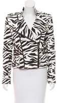 Pierre Balmain Printed Zip-Up Jacket