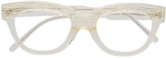 Kuboraum Clear-Lens Wayfarer Glasses