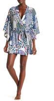 Josie Challis Mixed Print Robe