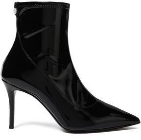 Giuseppe Zanotti Lucrezia Vinyl Sock Boots