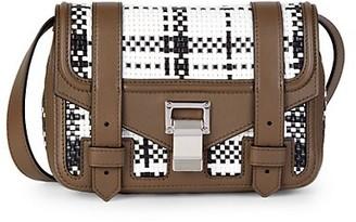 Proenza Schouler Mini PS1 + Zip-Around Leather Crossbody Bag