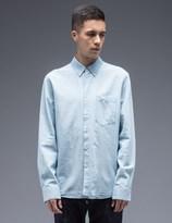 Nudie Jeans Blue Stanley Denim Shirt