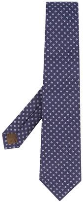 Church's Floral-Jacquard Silk Tie