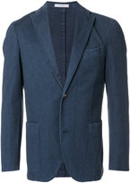 Boglioli denim single breasted jacket - men - Cotton/Polyester/Spandex/Elastane - 48