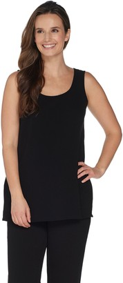 Linea by Louis Dell'Olio Gauze Crepe Tunic Tank