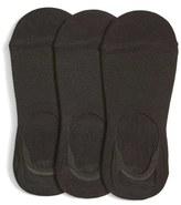 Nordstrom Women's 3-Pack No-Show Liner Socks