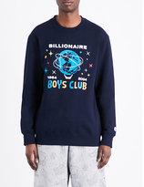Billionaire Boys Club Logo-print Cotton-jersey Sweatshirt