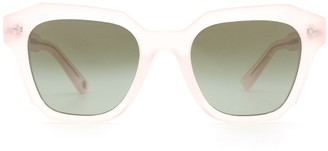 AHLEM Pont Des Arts Blushed Pink Sunglasses
