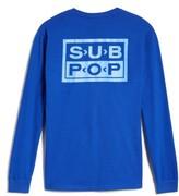 Hanes Sub Pop Long Sleeve Logo T-Shirt