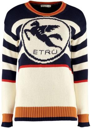Etro Cotton Crew-neck Sweater