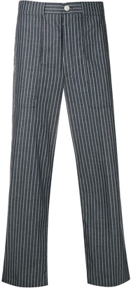 Thom Browne Cargo Pocket Pinstripe Trouser