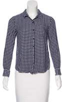 Soft Joie Flannel Button-Up Top