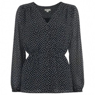 Whistles Black Top for Women