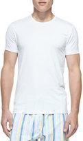 Derek Rose Jack Pima Cotton Stretch Crew Neck T-Shirt, White