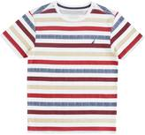 Nautica Little Boys' Multi Stripe Tee (2T-7)