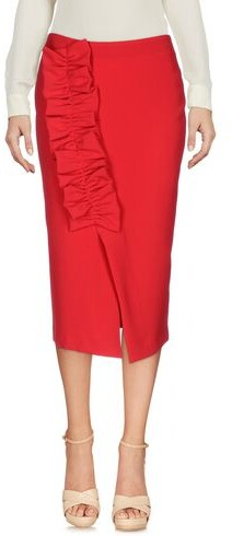 Thumbnail for your product : NORA BARTH 3/4 length skirt