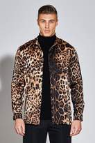 Premium Long Sleeve Leopard Print Shirt