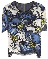 Erdem Emiko Embroidered Top