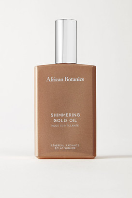 African Botanics Marula Shimmering Gold Oil, 100ml - one size