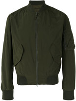 Aspesi zipped bomber jacket
