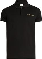 Saint Laurent Sweet Dreams cotton polo shirt