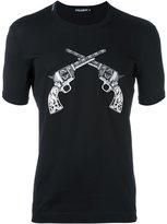 Dolce & Gabbana pistol patch T-shirt