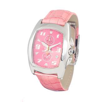 Chronotech Unisex Adult Analogue Quartz Watch with Stainless Steel Strap CT7468-07