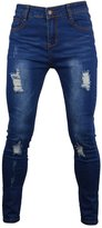 PHOENISING Women's Super stretchy Ripped Hole Skinny Jeans