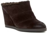 Tahari Spencer Fleece Lined Wedge Mule