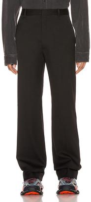 Balenciaga Tailored Pants in Black | FWRD