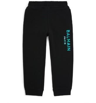 Balmain Kids Holographic Logo Sweatpants (4-16 Years)