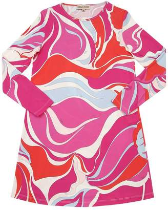 Emilio Pucci PRINTED SILK BLEND DRESS