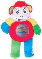 Exit Baby Bottle Buddy - Bottle Holder and Teether - Monkey