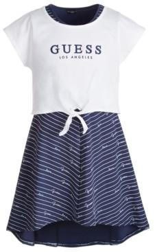GUESS Big Girls Layered-Look Jersey Dress