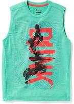Old Navy Graphic Go-Dry Muscle Tank for Boys